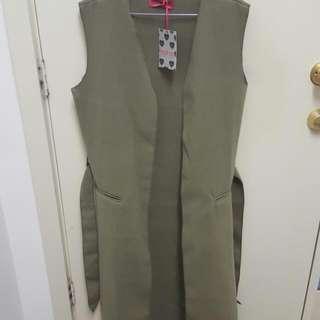 BOOHOO Sleeveless Coat
