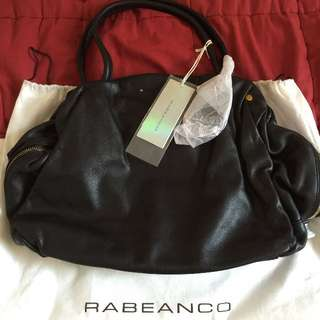 Reserved: Rabeanco 黑色提包(手提、肩背2用)