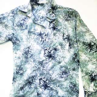 Floral Long Sleeve Shirt