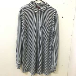 Neon Hart Chiffon Shirt