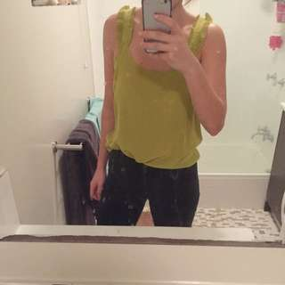 Gorman Silk Olive Top