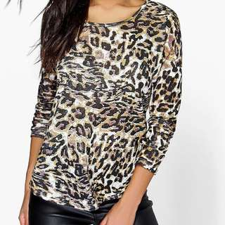NEW Leopard Top | Size S-M