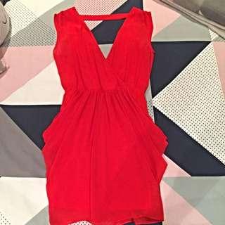 Coral Bebe Dress
