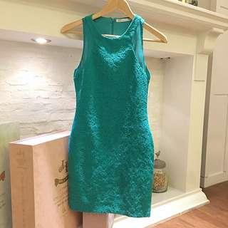 Zara Little Green Dress