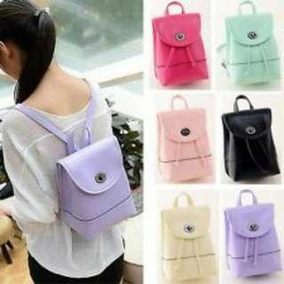 Women Girl Shoulder Leather Bag Rucksack Travel Backpack Mini School Handbag