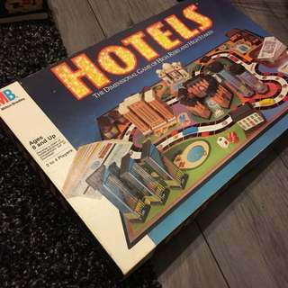 Hotels Board Game
