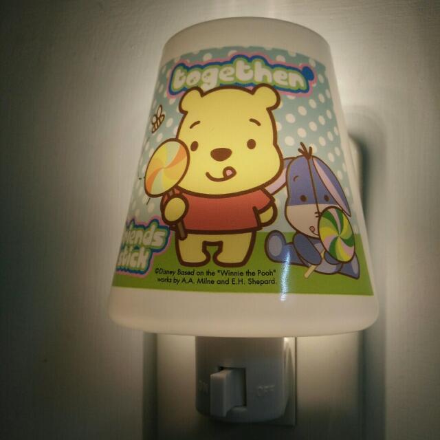 小熊維尼 小夜燈