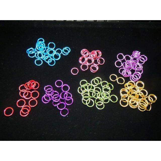 彩色鋁圈圈 - 手作材料