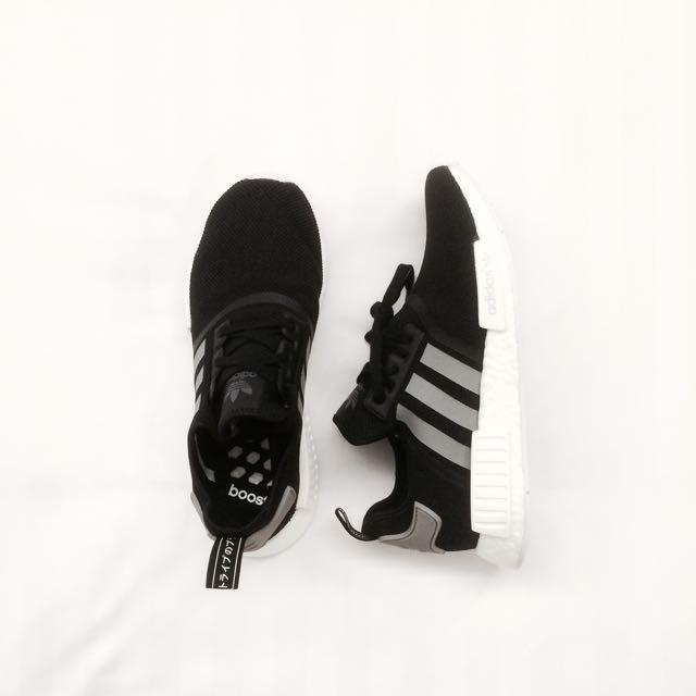 a9a2afa9d RESERVED  Adidas NMD Black Grey Mesh