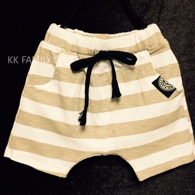 【夏季出清】正韓條紋ARMY短褲 (現貨款)