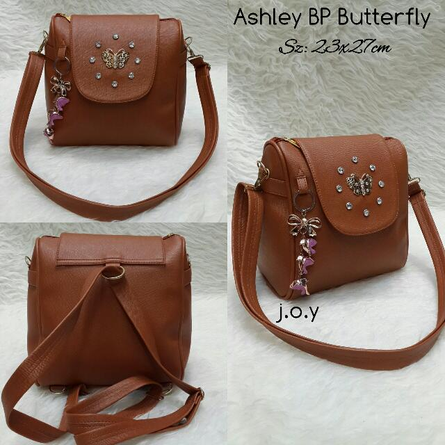 Ashley Backpack Butterfly 2in1