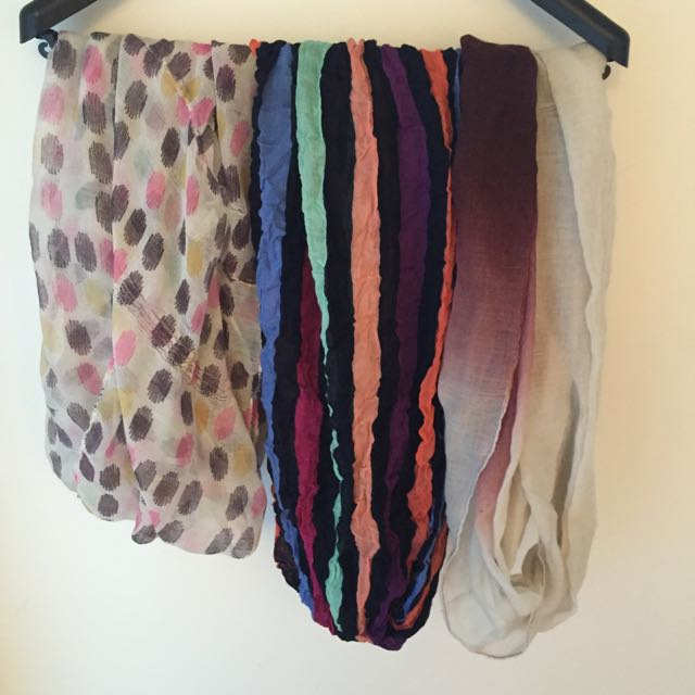Assorted Infinity Scarves