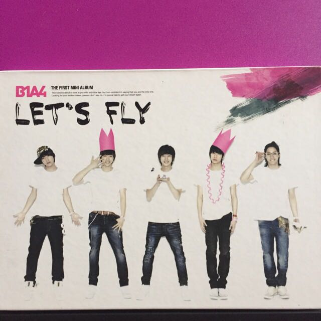 B1A4 - 1st Mini Album Let's Fly