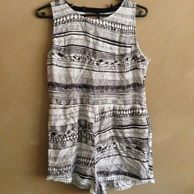 Black & White Insight Play Suit