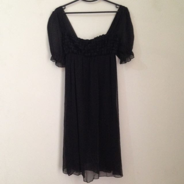 [REPRICE] Black Dress By Chic Simple