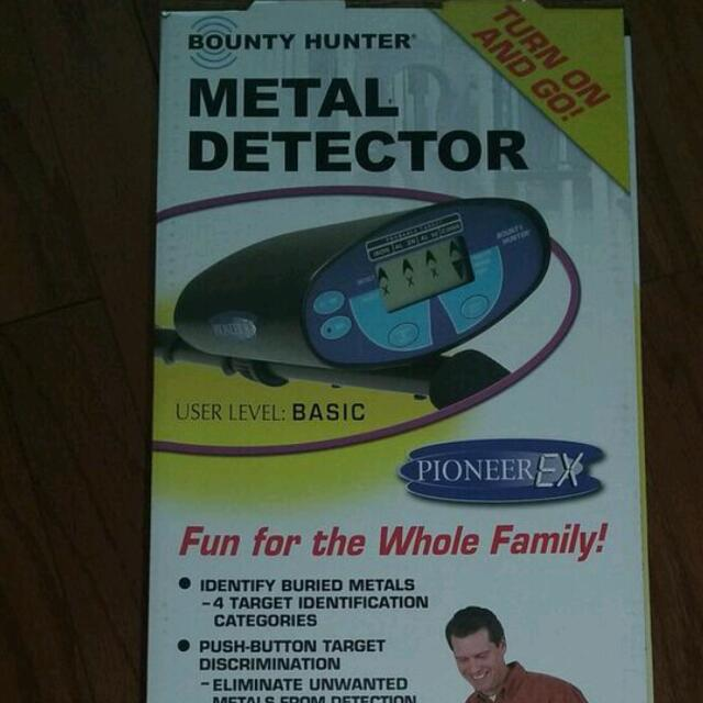Bounty Hunter Metal Detector Pioneer Ex