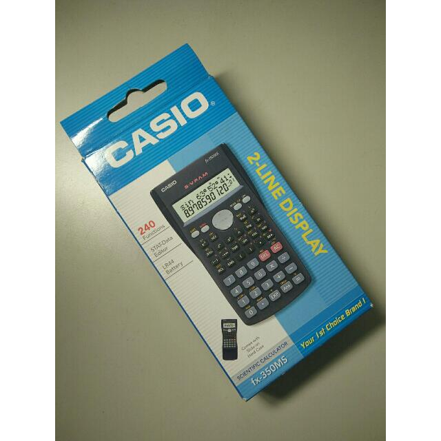 CASIO 工程用計算機(fx-350MS)