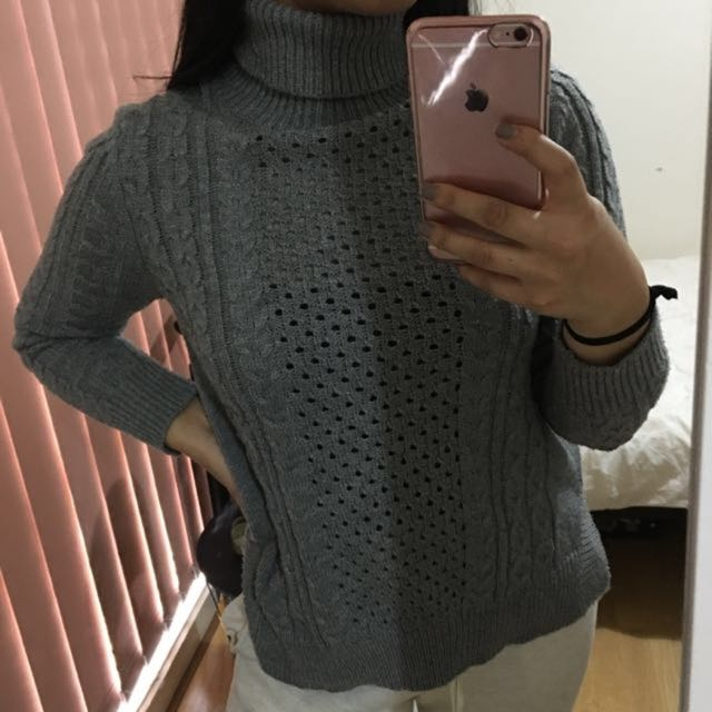 Cocolatte Grey Knit Jumper