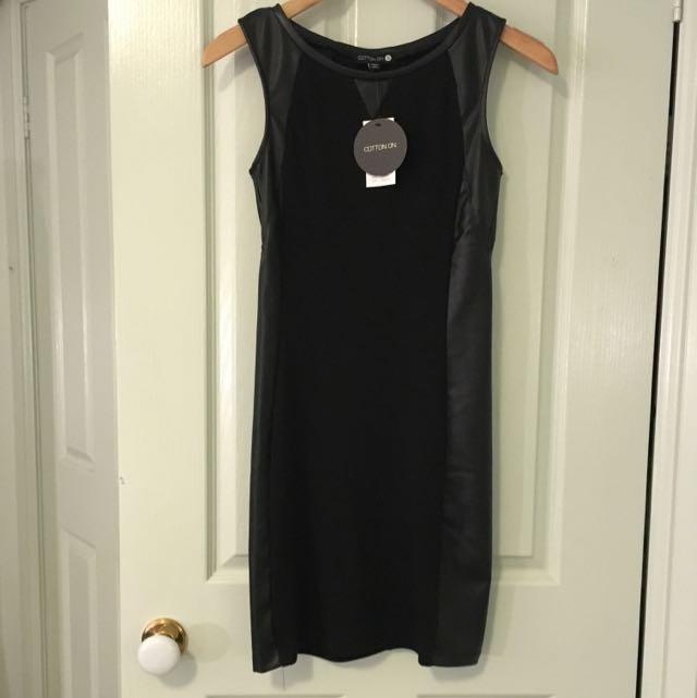 Ctn On Bodycon Dress Size S