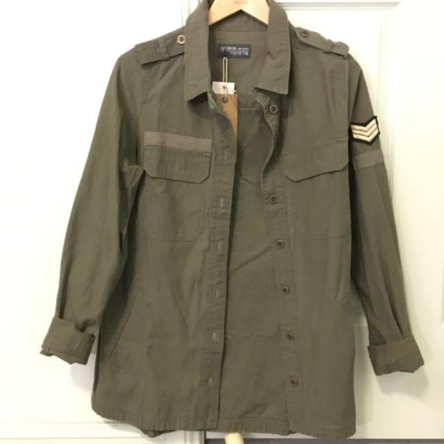 Ctn On Khaki Jacket