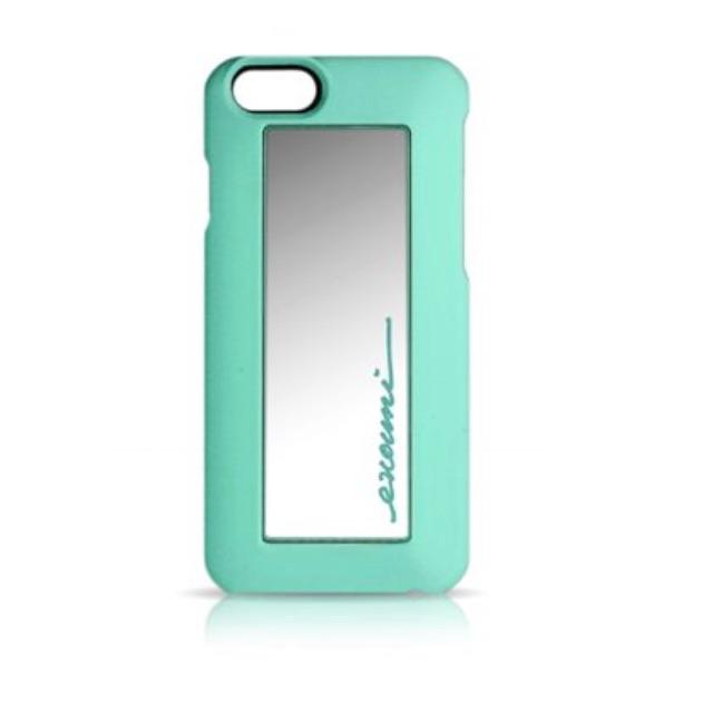EVOUNI美人心機鏡愛美保護殼 粉嫩綠_iPhone6S/ iPhone6
