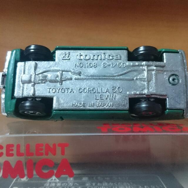 Excellent Tomica Toyota Corolla Levin (MIJ)