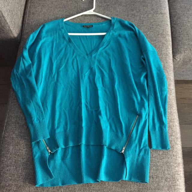Express Sweater With Zipper