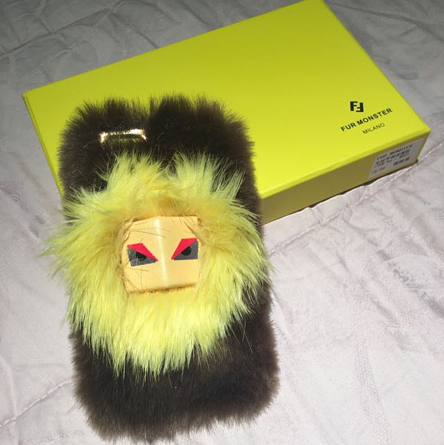 Fendi Fur Iphone5 Case