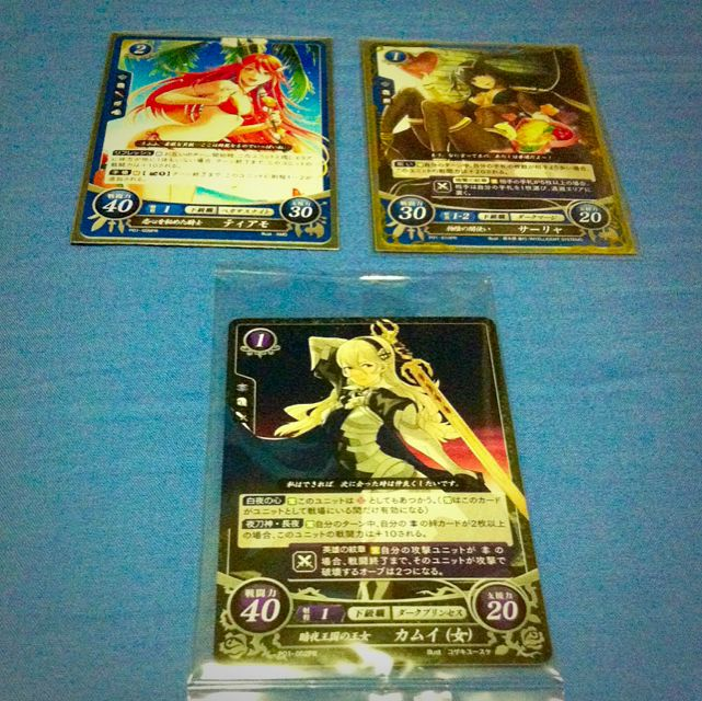 Fire Emblem Cipher Promo Cards, Toys & Games on Carousell