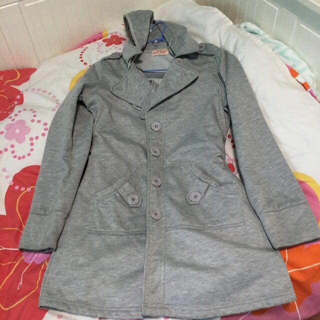 Great Coat With Hoodie