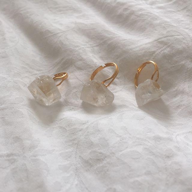 Handmade Amethyst Rings