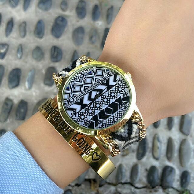 handmade braided watch