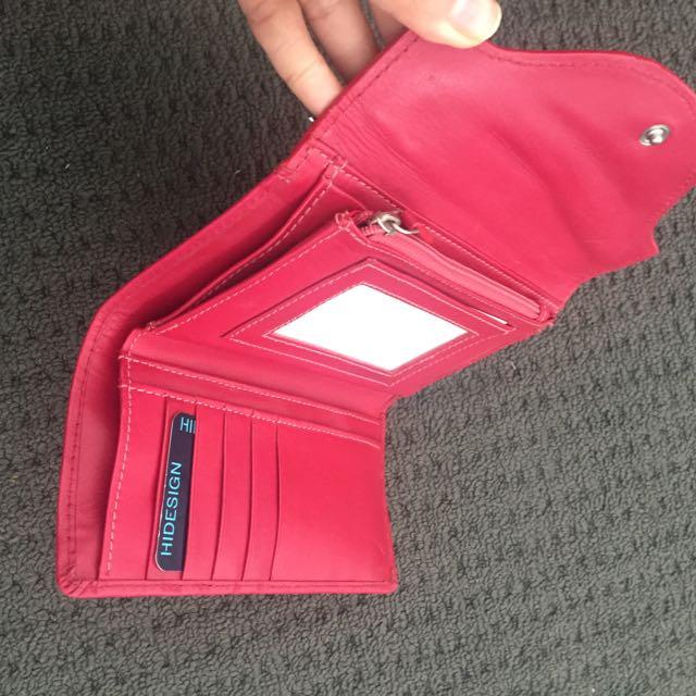 HIDESIGN wallet