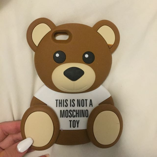 Iphone Case: Moschino Bear