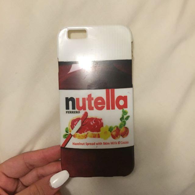 Iphone Case: Nutella