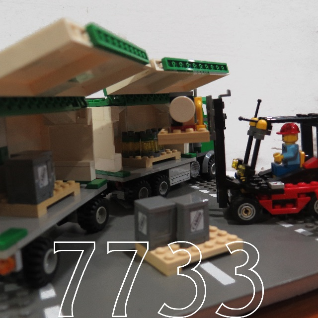 Lego Truck Forklift 7733 Toys Games On Carousell