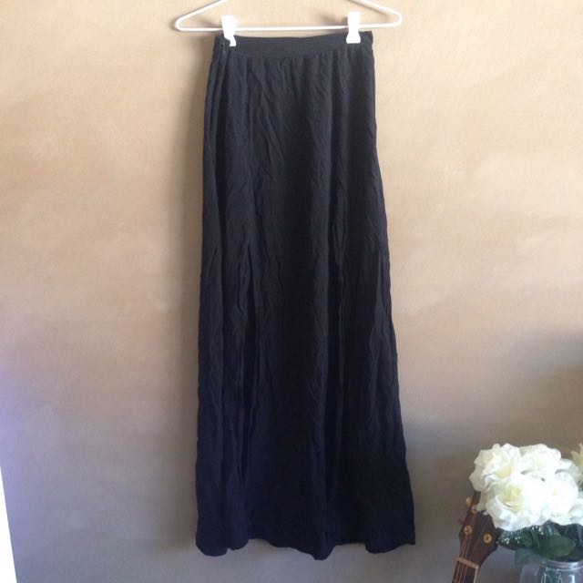 Maxi Skirt With Front Splits
