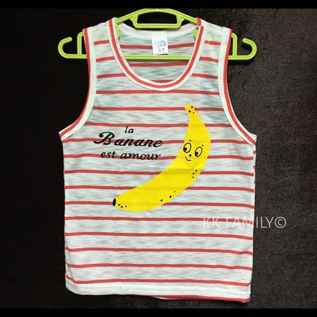 【夏季出清】MIT小黃香蕉挖背背心