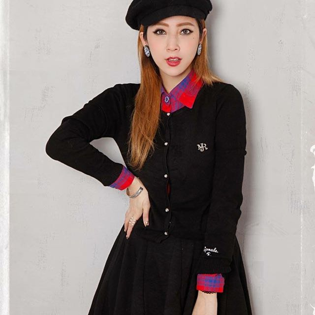 MJR 黑色針織衣 XS