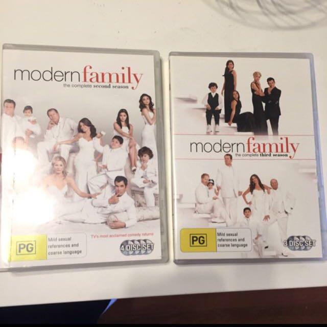 Modern Family DVDs