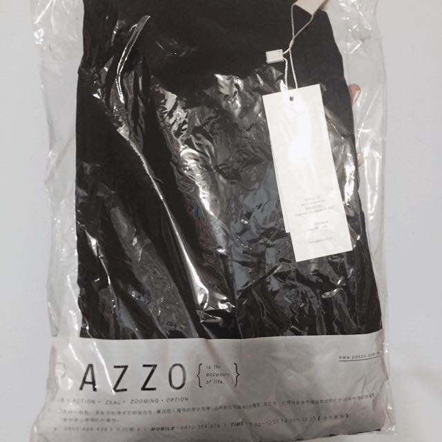 Pazzo彈力黑褲 全新S號