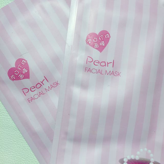 pearl face masks