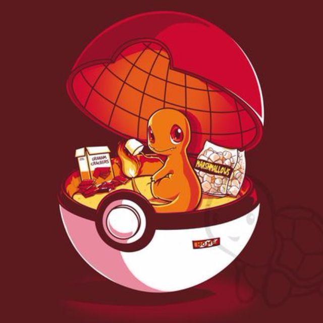 Rare Pokemon Anime Charmander T-shirt