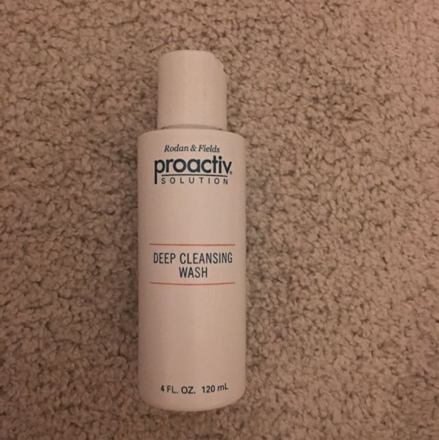 Proactive Solution Deep Cleansing Wash