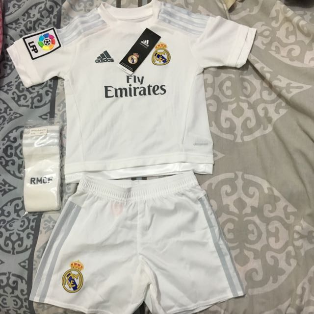 Real Madrid Ronaldo Jersey Pack