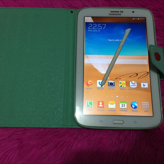 Samsung note 8.0 16gb Wifi Sim