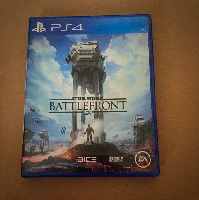 Star Wars Battlefront Ps4 Original