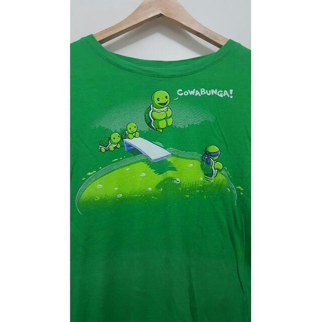 Teenage Mutant Ninja Turtles Anime Cartoon T-shirt