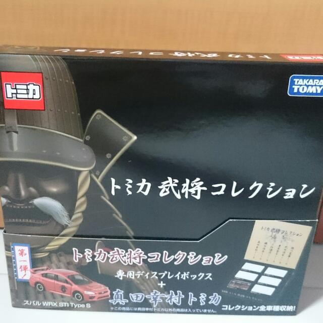 Tomica Warlords Collection - Subaru WRX STI Type S