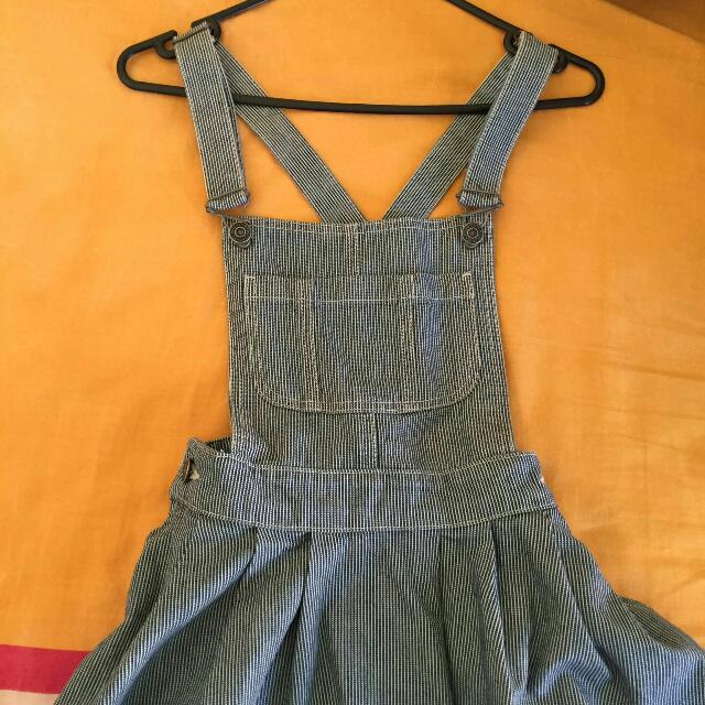 Topshop Skirt Overalls